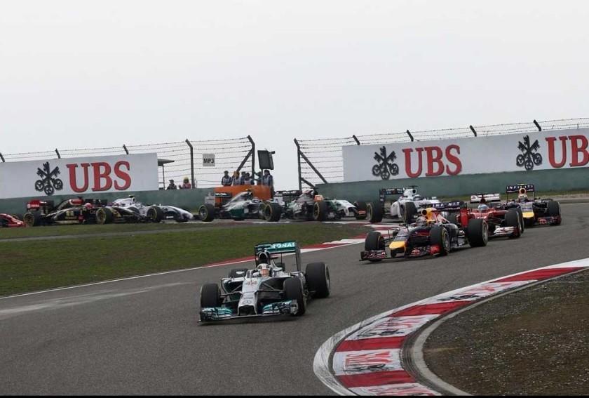 Lewis Hamilton, en cabeza desde el primer al último metro del GP de China