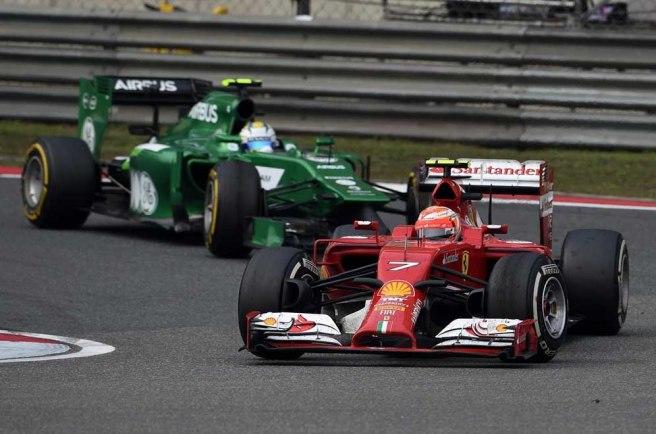 De nuevo, mal día para Kimi Raikkönen y su Ferrari