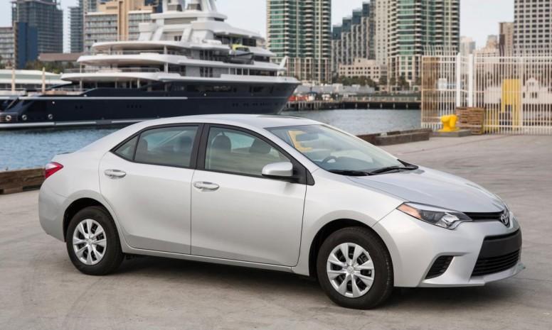 Toyota Corolla, el más vendido del año 2013