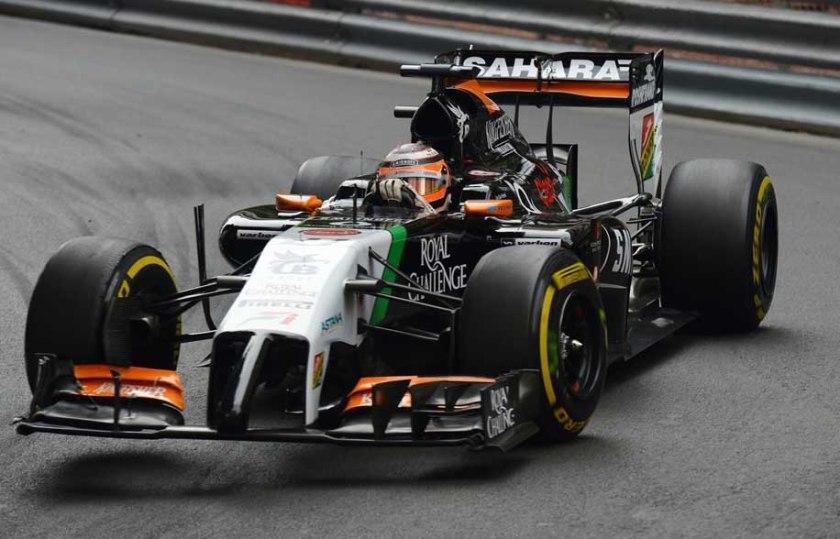 Excelente carrera la de Nico Hulkenberg y su Force India