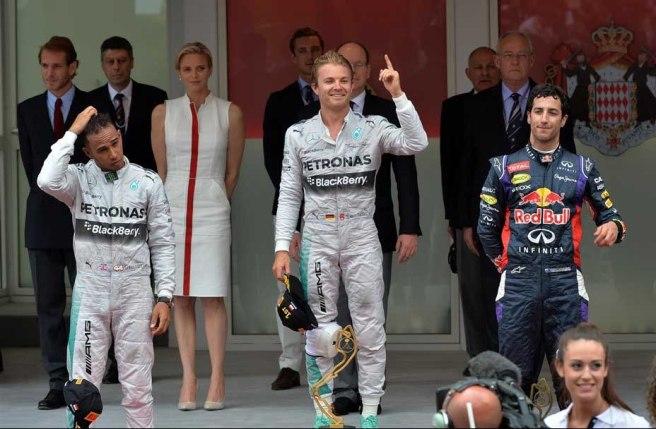 Nico Rosberg, de nuevo en lo más alto del cajón