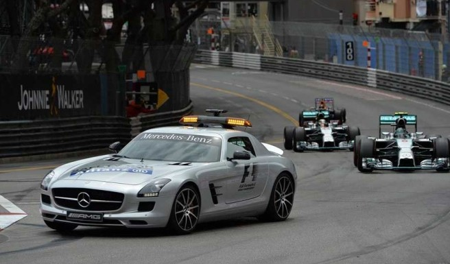 El Safety Car, protagonista por partida doble hoy en Mónaco