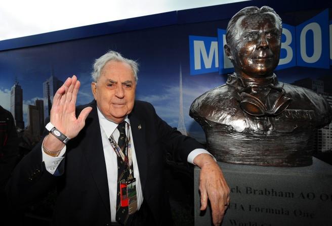 Jack Brabham, homenajeado durante el GP de Australia de 2013