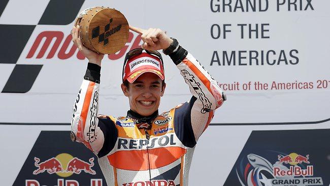 Marc Márquez, renueva con Honda hasta finales de 2016