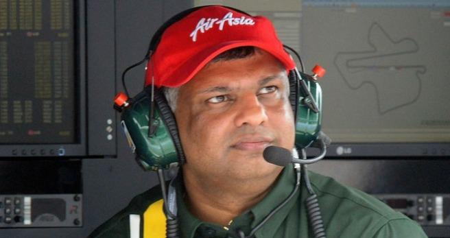Tony Fernandes, dueño de Catehram, planea vender el equipo