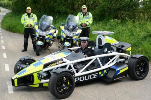 La Policía británica contará con un Ariel Atom