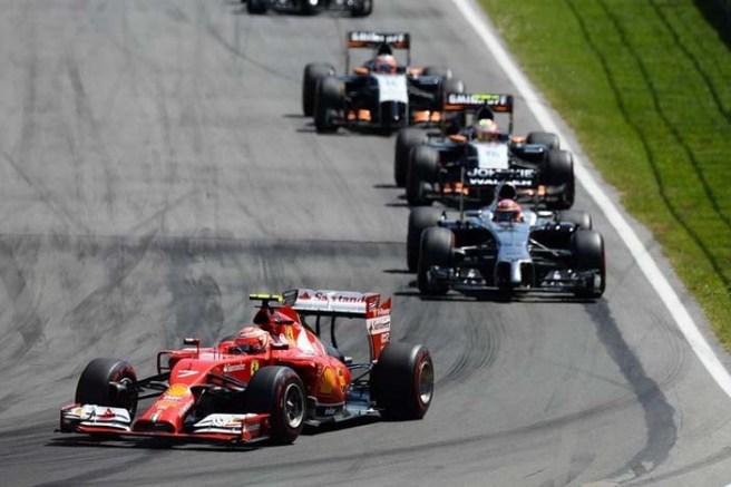 No fue un buen día para Ferrari