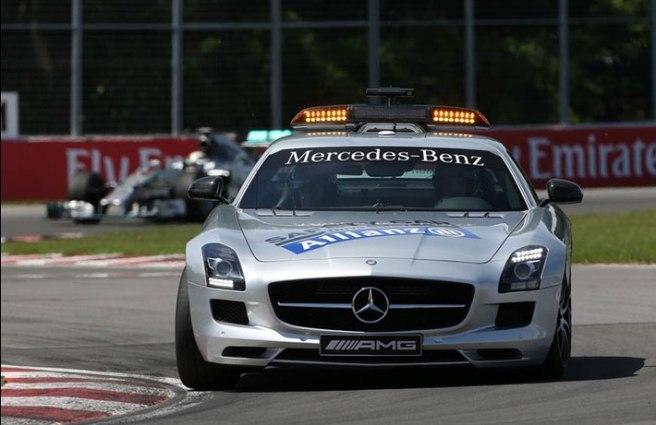 El Safety Car, un invitado más al GP de Canadá