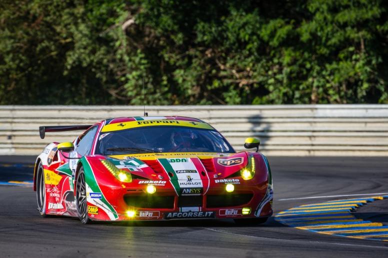 James Calado tampoco estará en esta edición de las 24 Horas de Le Mans