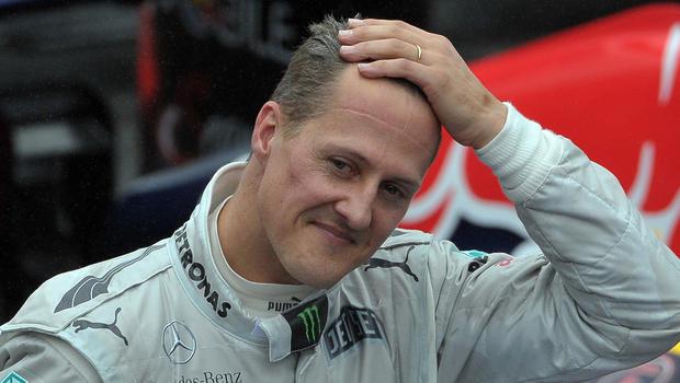 Roban el historial médico de Michael Schumacher