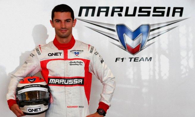 Alexander Rossi, nuevo piloto reserva de Marussia