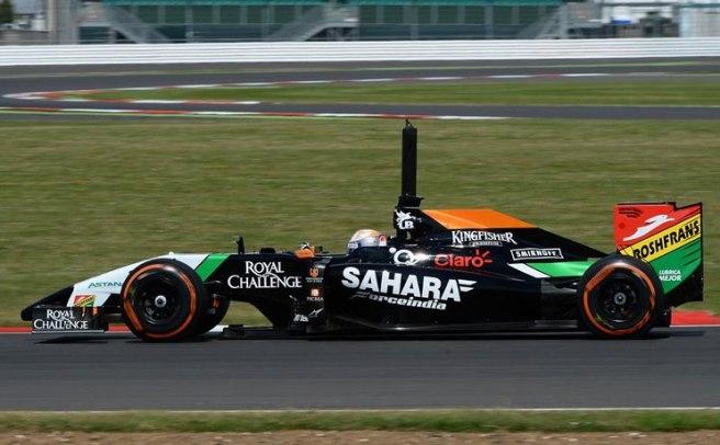 El español Daniel Juncadella, de nuevo al volante del Force India