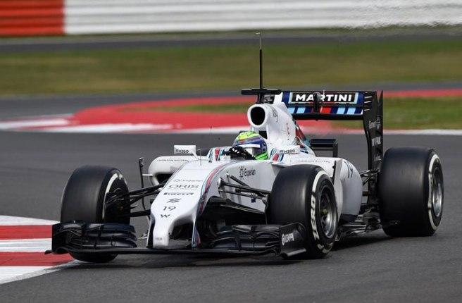 Felipe Massa, el más rápido en el primer día de tests en Silverstone
