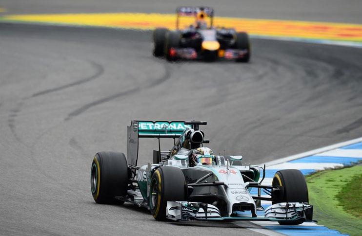 Lewis Hamilton, protagonista de la remontada del año