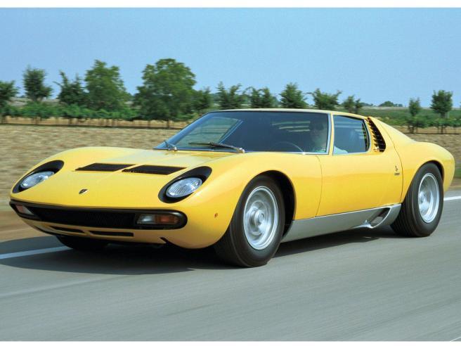 El Lamborghini Miura, un diseño mítico de Bertone