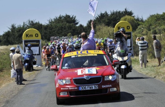 Skoda, un año más con el Tour de Francia