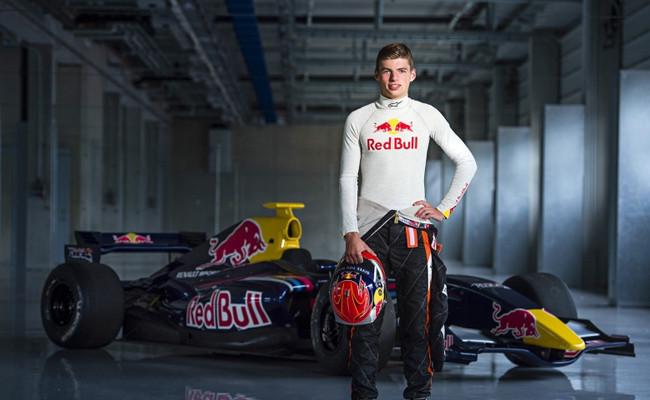 Max Verstappen, nuevo piloto del Red Bull Junior Team