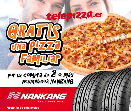 Promoción de i-neumaticos.es y Telepizza