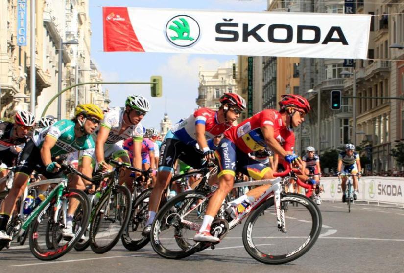 Skoda, un año más con la Vuelta Ciclista a España