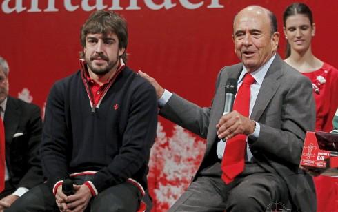 La muerte de Emilio Botín podría ser decisiva para el futuro para Fernando Alonso