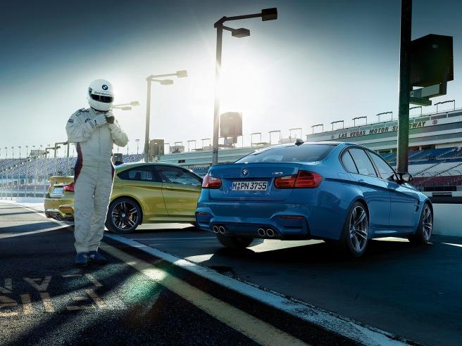 Llega la BMW Driving Experience a España con los nuevos M3 y M4
