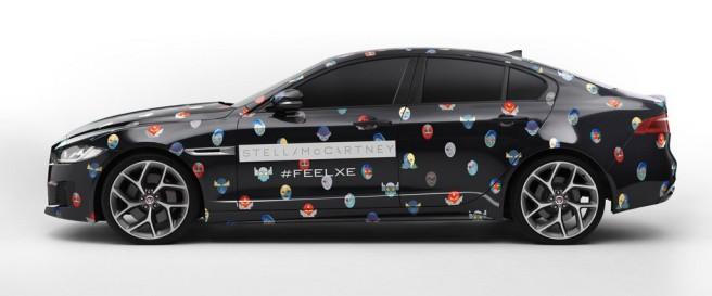 Llega el Jaguar XE de superhéroes, diseñado por Stella McArtney