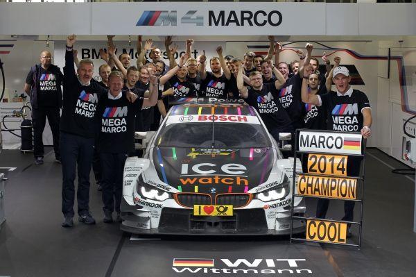 Marco Whitman, nuevo campeón del DTM 2014