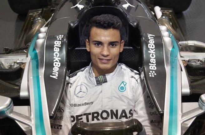 Pascal Wehrlein, nuevo piloto reserva de Mercedes