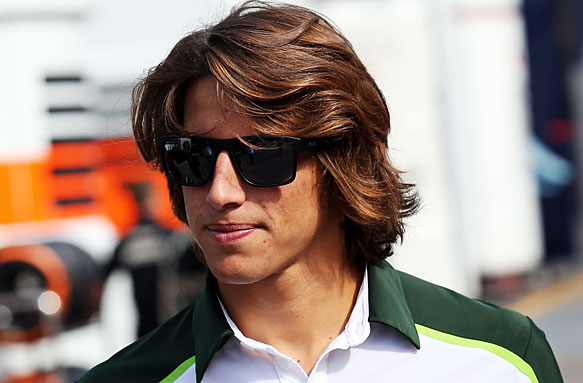 Roberto Merhi probará con Caterham en los libres del GP de Italia