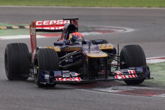 Primer test serio de Max Verstappen en Toro Rosso