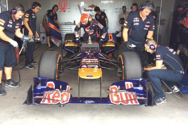 El equipo, muy satisfecho con los resultados de Verstappen