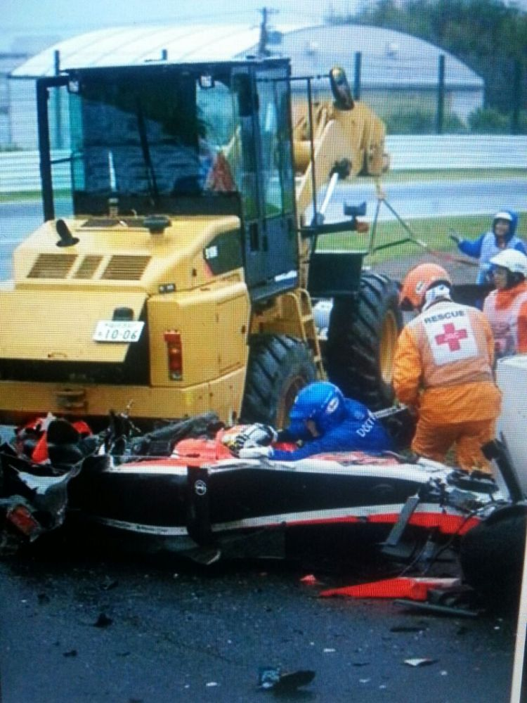 Jules Bianchi, en estado crítico tras sufrir un accidente en Suzuka (2/2)