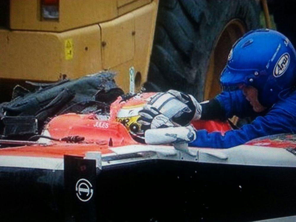 Jules Bianchi, en estado crítico tras sufrir un accidente en Suzuka (1/2)