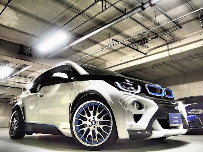 La deportividad del BMW i3 EVO destaca por encima de todo