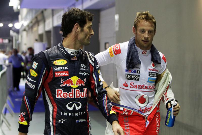 Jenson Button y Mark Webber, posibles compañeros en Porsche en 2015