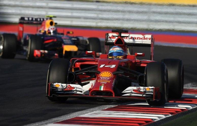 Fernando Alonso sólo pudo ser sexto en una nueva decepción de Ferrari