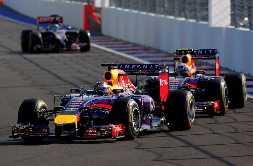 No ha sido un buen fin de semana para Red Bull en Rusia