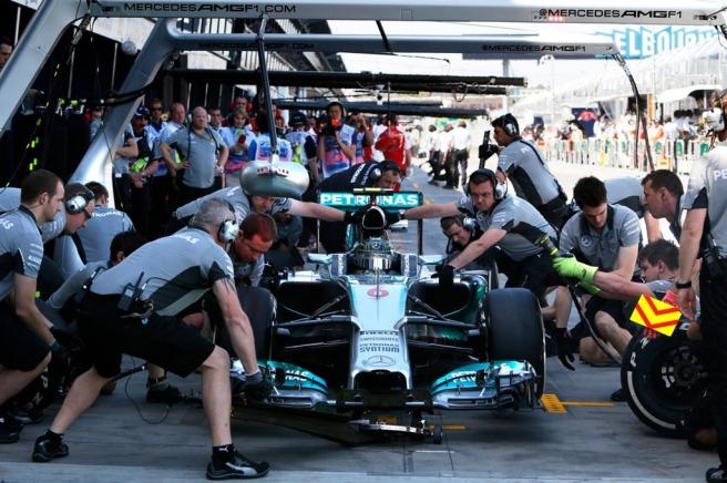 Mercedes, en contra de la descongelación de motores para 2015 aprobada hoy