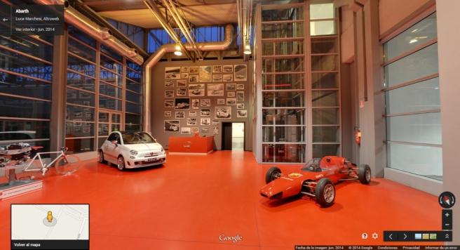 Conocer el Museo Abarth  es ahora más fácil con Google Street View