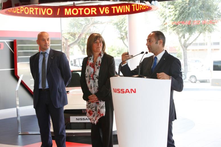 Acto de inauguración de la nueva sede de Nissan el pasado 23 de octubre