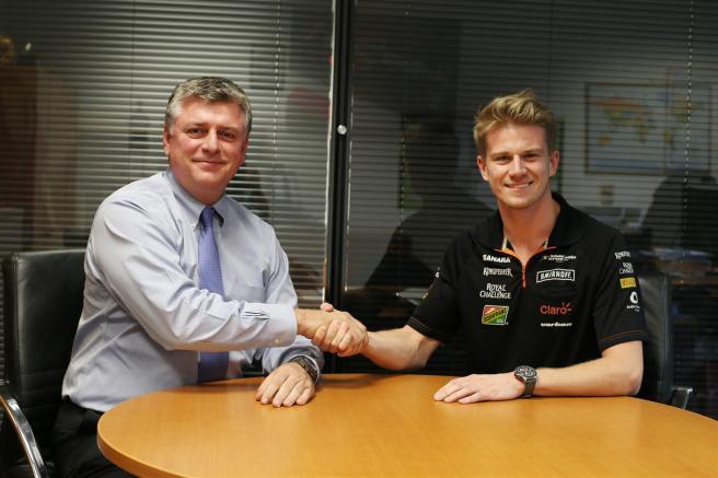 Nico Hulkenberg seguirá un año más en Force India