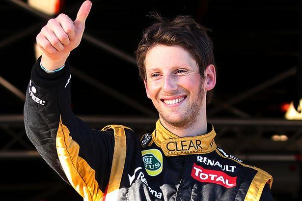 Romain Grosjean, a un paso de renovar por Lotus