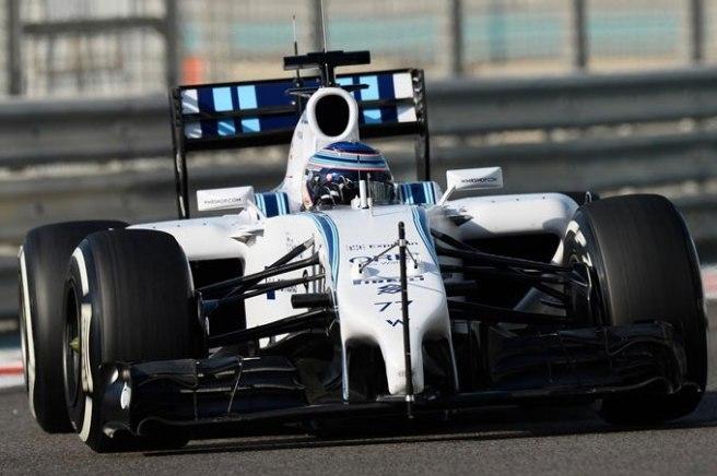 Valtteri Bottas, el más rápido en la primera jornada de tests en Abu Dhabi
