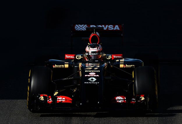 Esteban Ocon, a bordo del Lotus E22