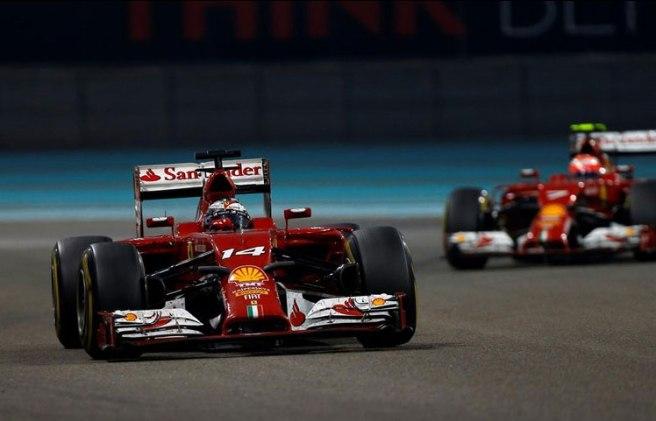 Abu Dhabi vivió un nuevo  hundimiento de Ferrari