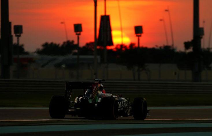 Gran carrera de Nico Hulkenberg y, en general, de los dos Force India