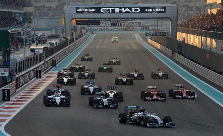 Lewis Hamilton lideró la prueba desde el primer momento