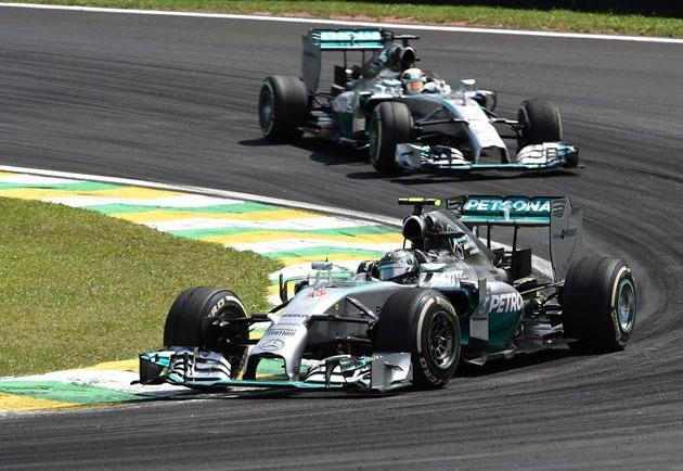 Mercedes ha pulverizado todos los récords en el Mundial de Constructores