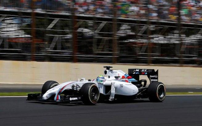 Felipe Massa realizó una excelente carrera, finalizando en tercera posición
