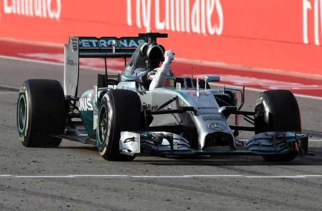 Lewis Hamilton dio una exhibición de fuerza hoy en Austin